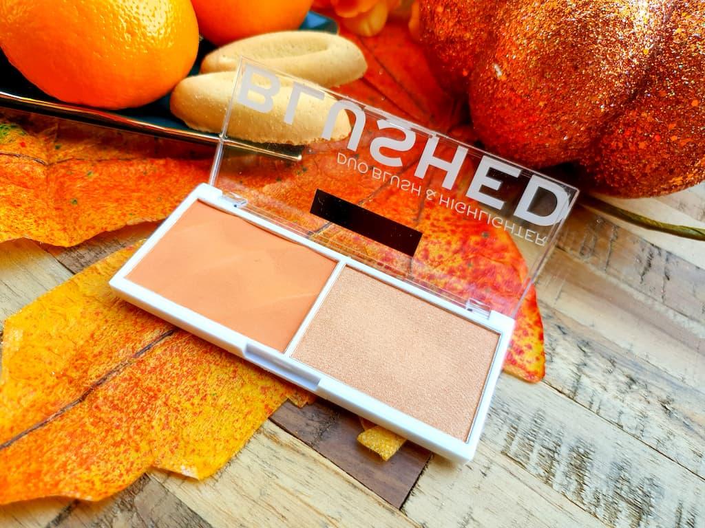 palette blush et highlighter