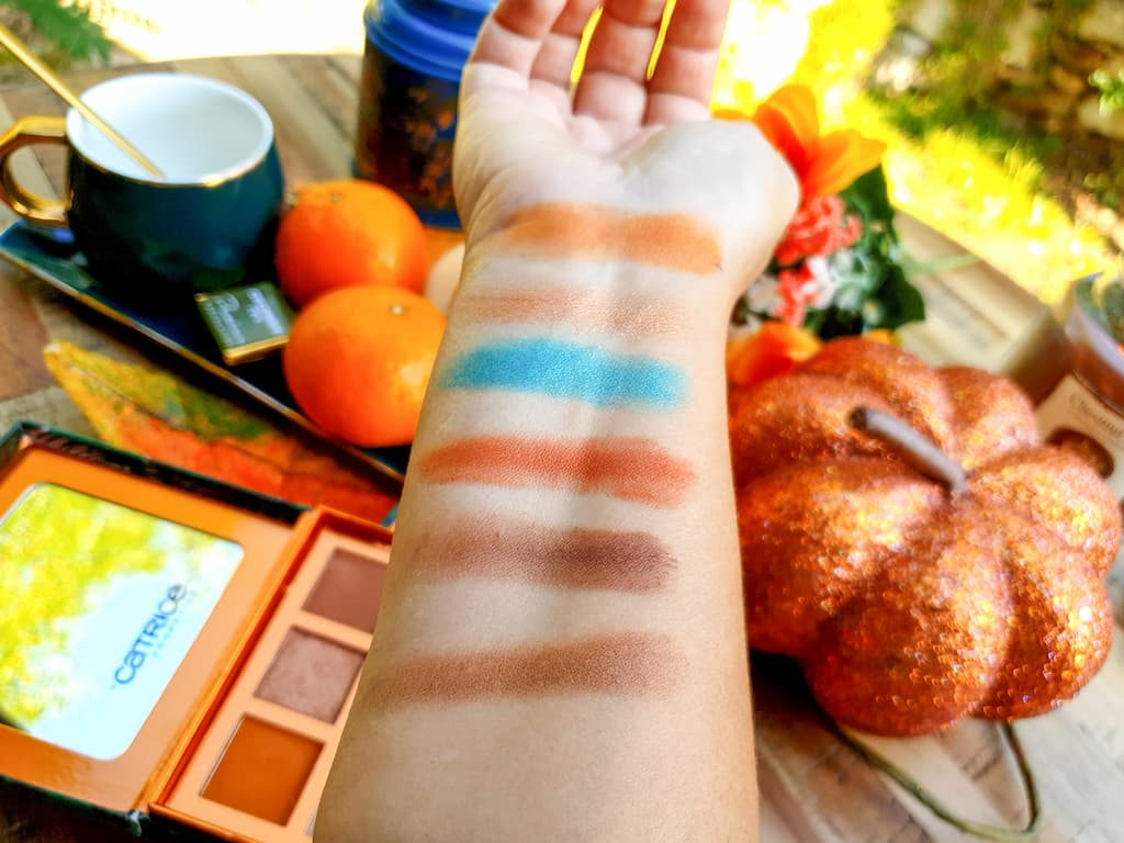 swatches palette Catrice