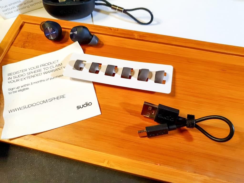 test et avis écouteurs sans fil Sudio T2